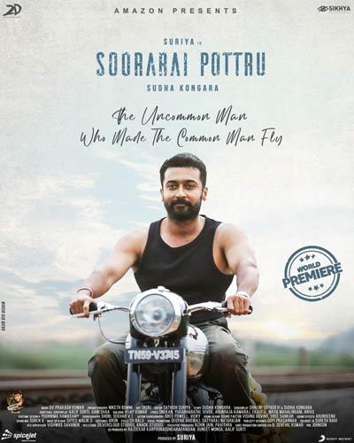 Soorarai Pottru Movie A Biopic Of The Air Deccan Founder Movie Info Movie Songs Movie Releases