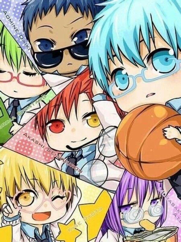 Kuroko No Basket Personajes