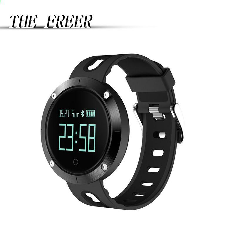 39f1e0070baa Smart Watch DM58 Moda Mujeres Hombres reloj de pulsera digital ...