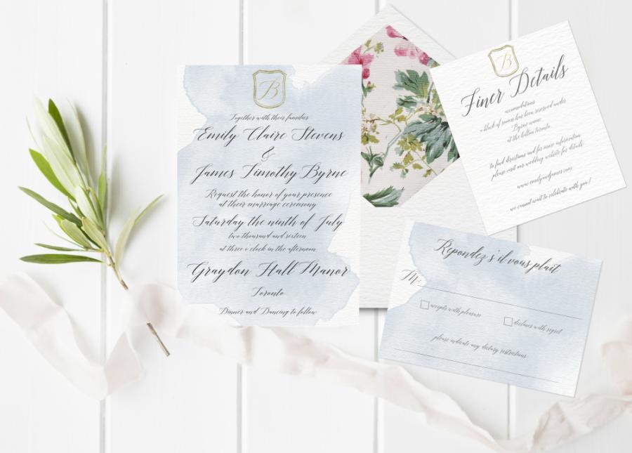 Event source- Toronto's Top Stationery Designers Share Their Favourite 2016 Wedding Invitation Designs