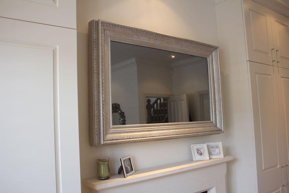 Resultado de imagem para tv frame tv mirror | TV | Pinterest ...