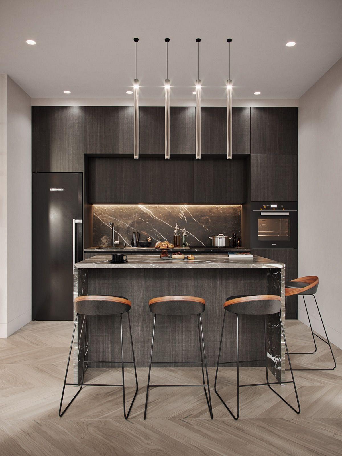 15 Best Amazing Kitchen Lighting Ideas You Have To Try Kitchen Design Interior Design Kitchen Luxury Kitchen Design