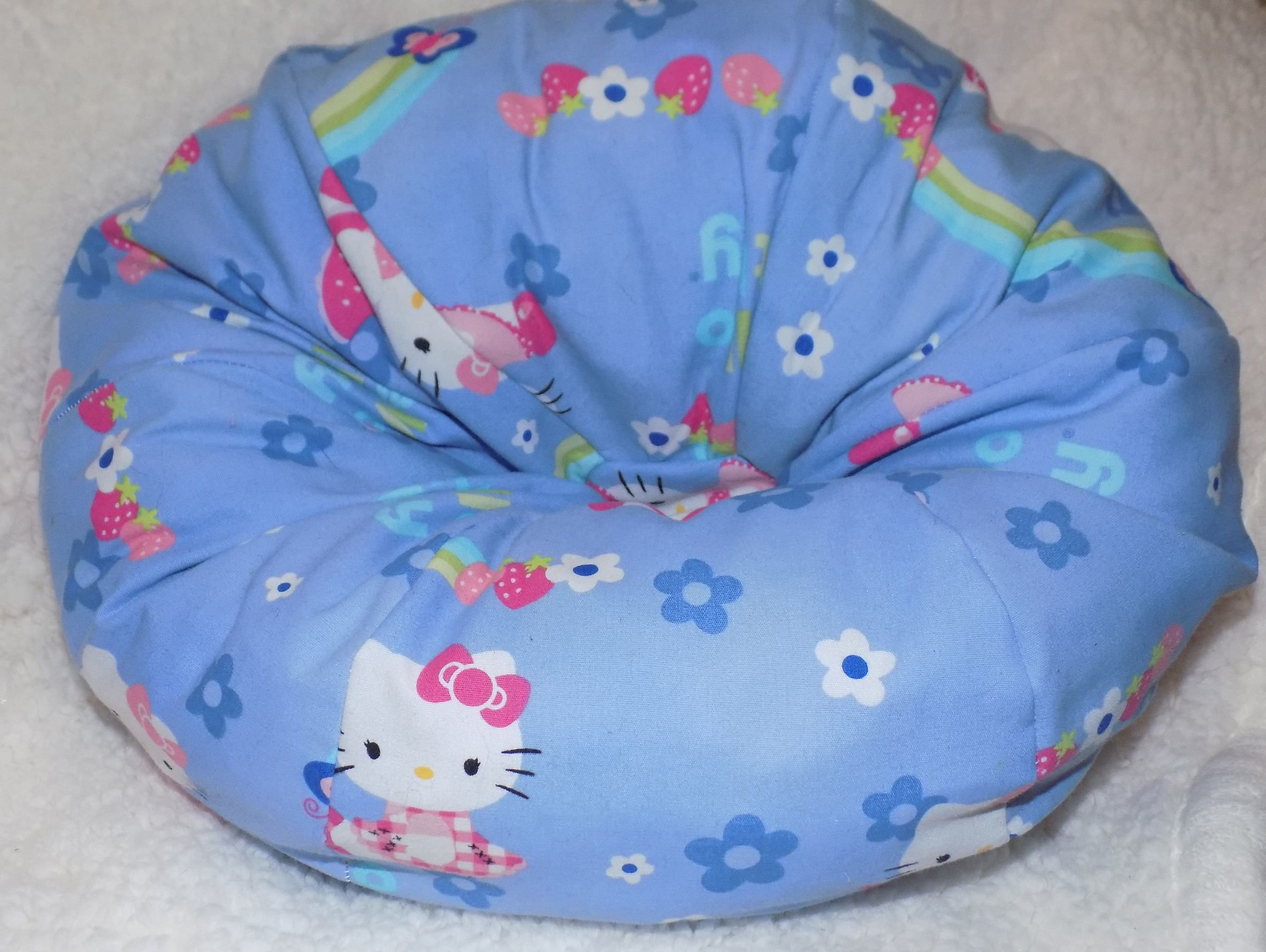 American Girl Bean Bag Chair Handcrafted From Adorable Hello Kitty