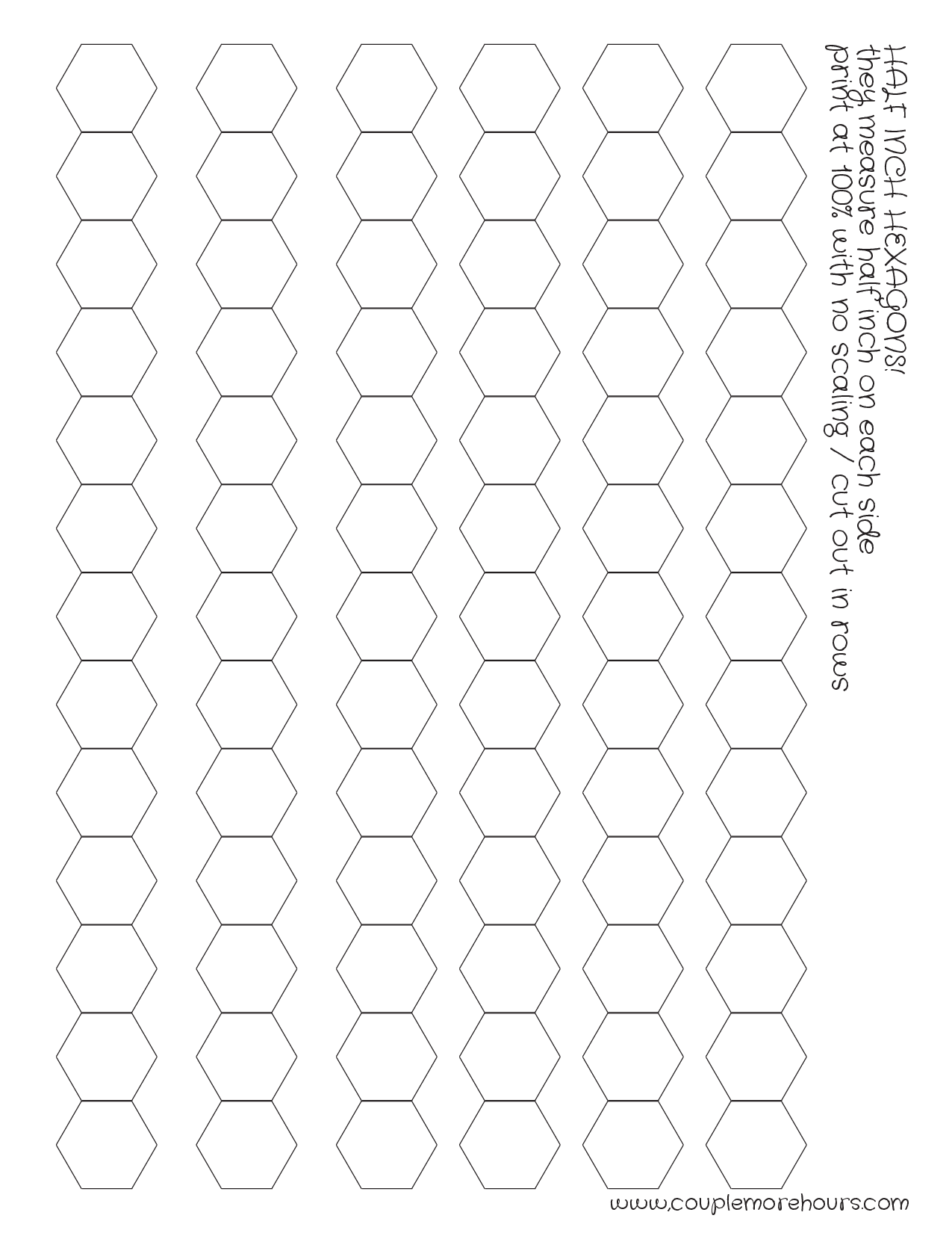 Comfortable 1 Week Calendar Template Tiny 1099 Excel Template Rectangular 12 Month Budget Template 14 Year Old Resumes Young 17 Year Old Resume Sample Green1st Job Resume Samples Half Inch Hexies Printable | Flex Frame Sewing | Pinterest ..