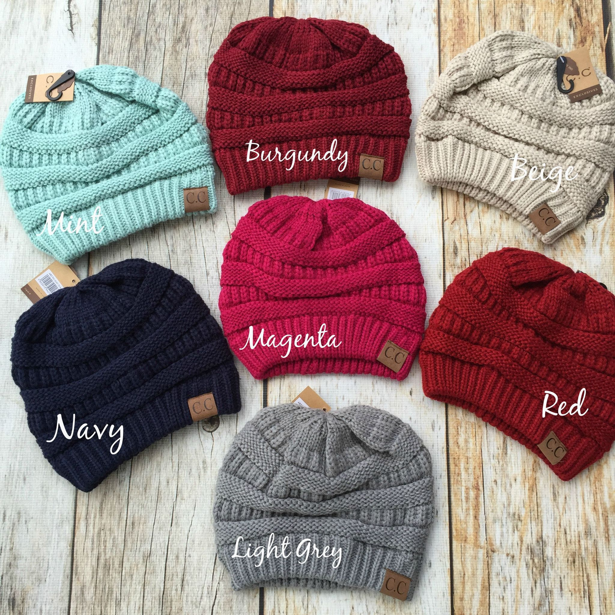 b17f9ce76e1 Best Selling C.C. Slouchy Knit Beanie We have the following colors left   Mint