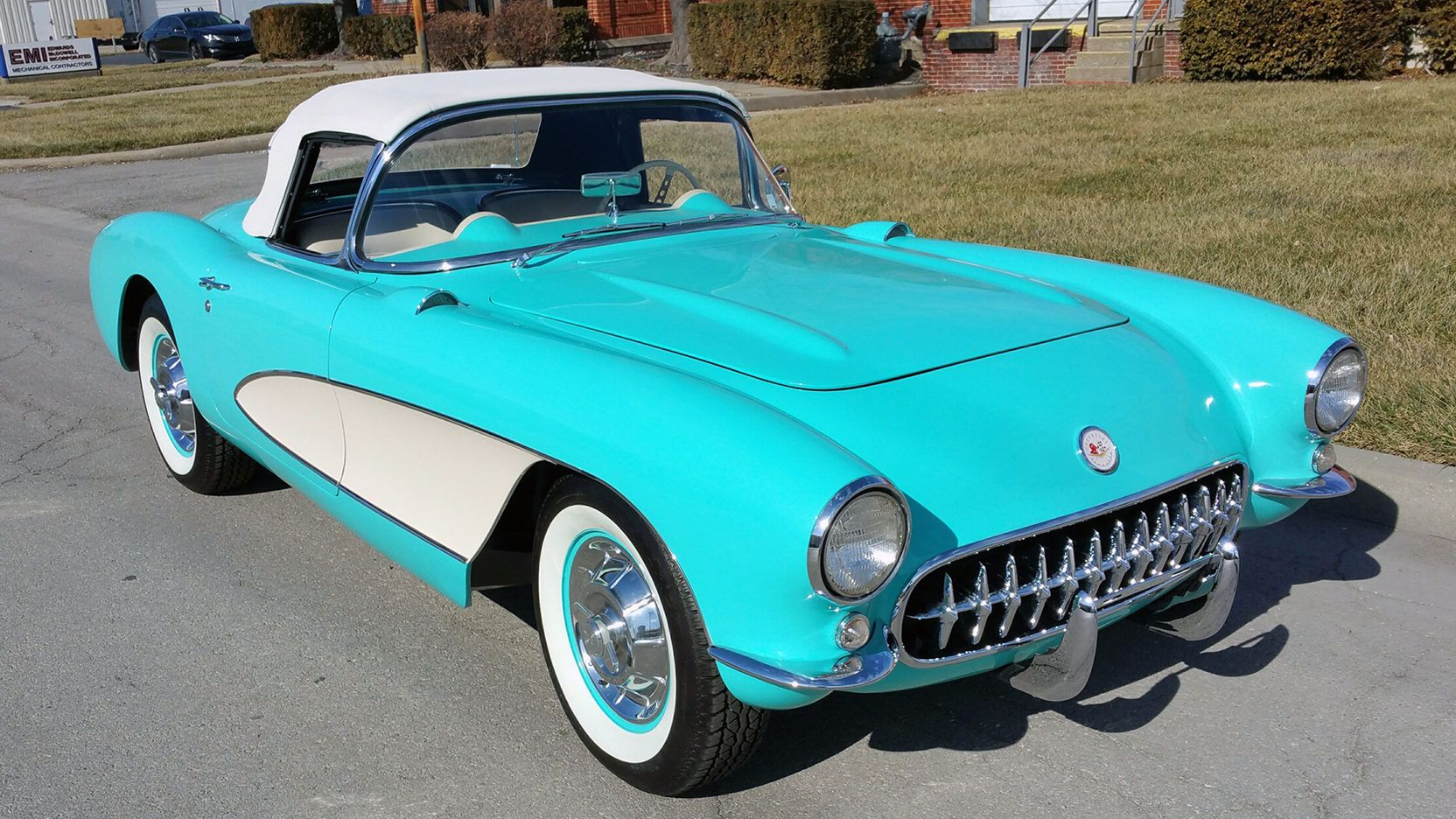 1956 Chevrolet Corvette Convertible Presented As Lot S86 At
