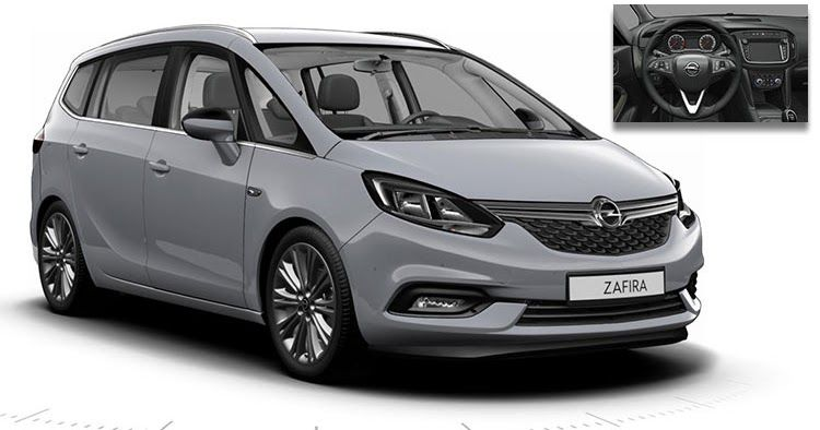 This Is Likely The Facelifted 2017 Opel Vauxhall Zafira Tourer