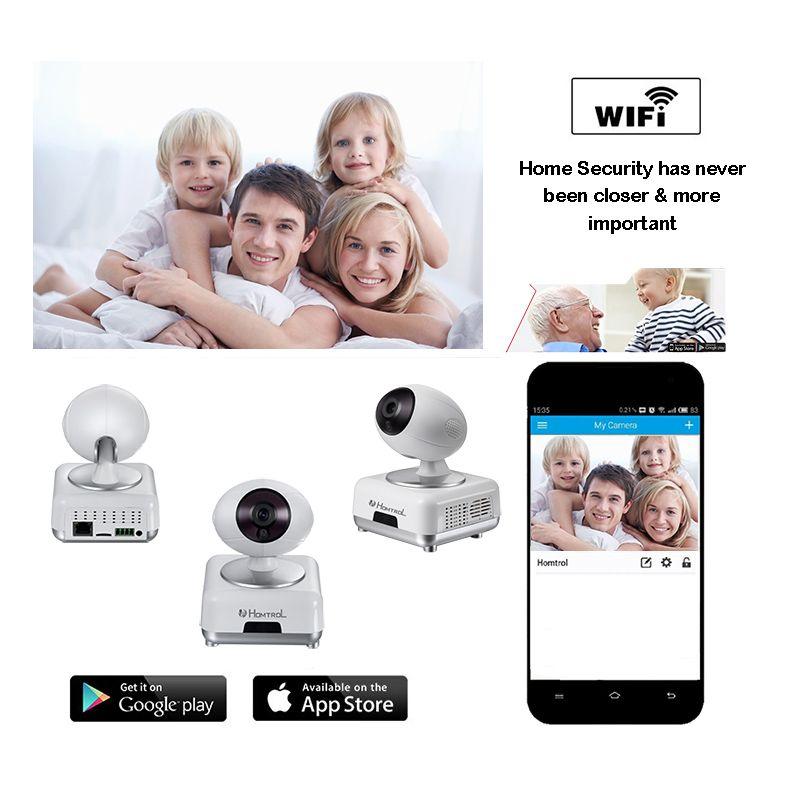 Homtrol IP Camera WIFI 720P Home Security Surveillance
