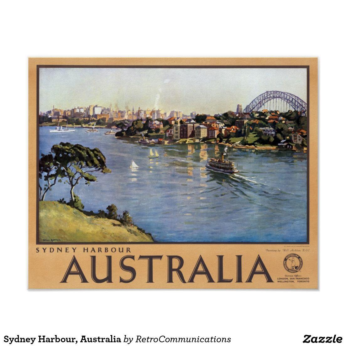 Sydney Harbour, Australia Poster | Pinterest