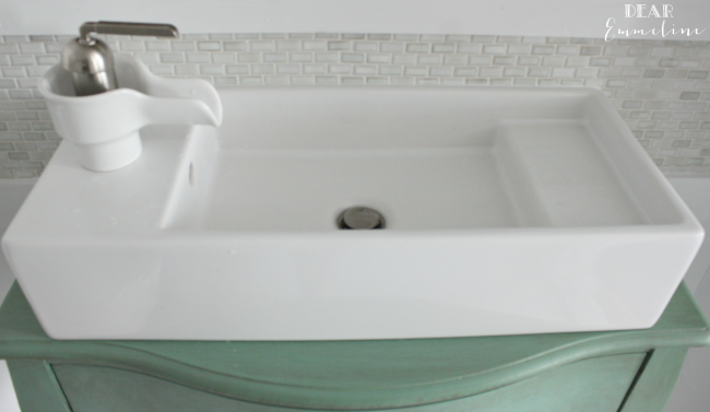 Sink Tap Modell : We found the perfectly sized slimline sink at ikea it is