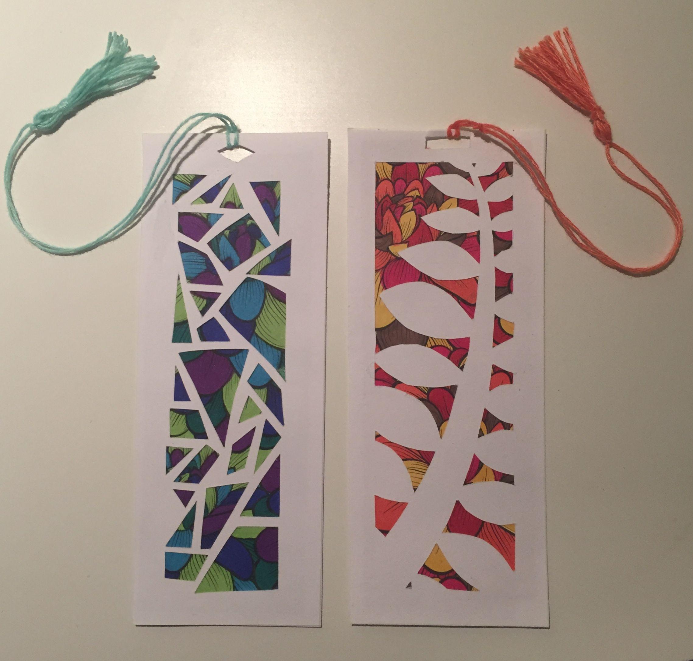 Home-made bookmarks   Crafts/fair stuff   Pinterest