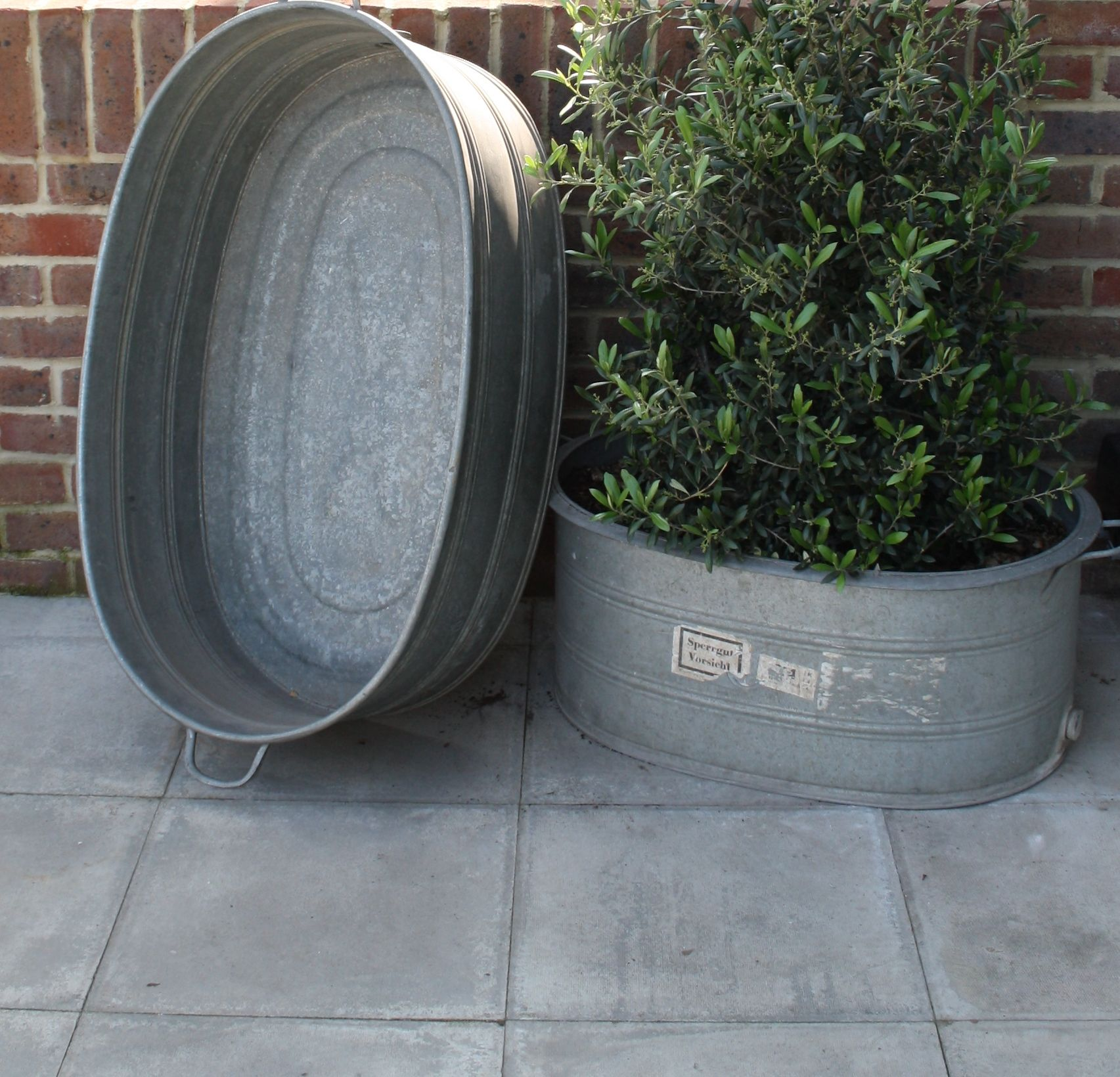 Zinc Planters Cheap on zinc trough planter, zinc planter trays, zinc finish,