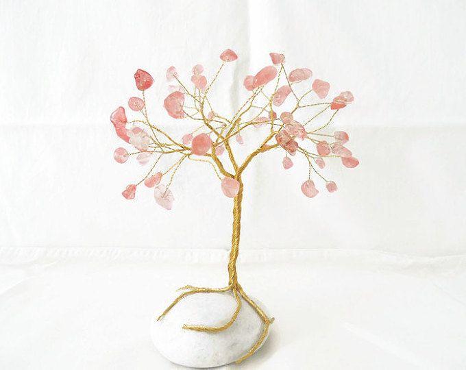 1. Geburtstag, Draht, Baum-Skulptur, Edelstein Draht Baum, Draht ...