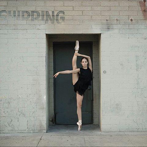 Ballerina Project On Instagram Ballerina Julietdoherty In Downtownlosangeles Losangeles La Outfit Ballerina Project Dance Pictures Los Angeles Outfit