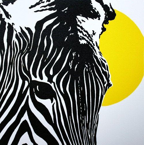 Z Is For Zebra Yellow