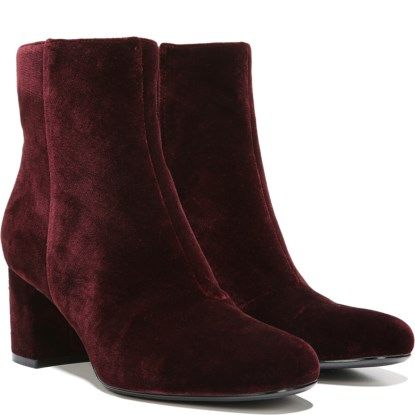 Buy Cheap Footlocker Pictures Naturalizer Westing Block Heel Ankle Bootie(Women's) -Oatmeal Suede 100% Original Wholesale Price Cheap Online N4aCHlbvwl