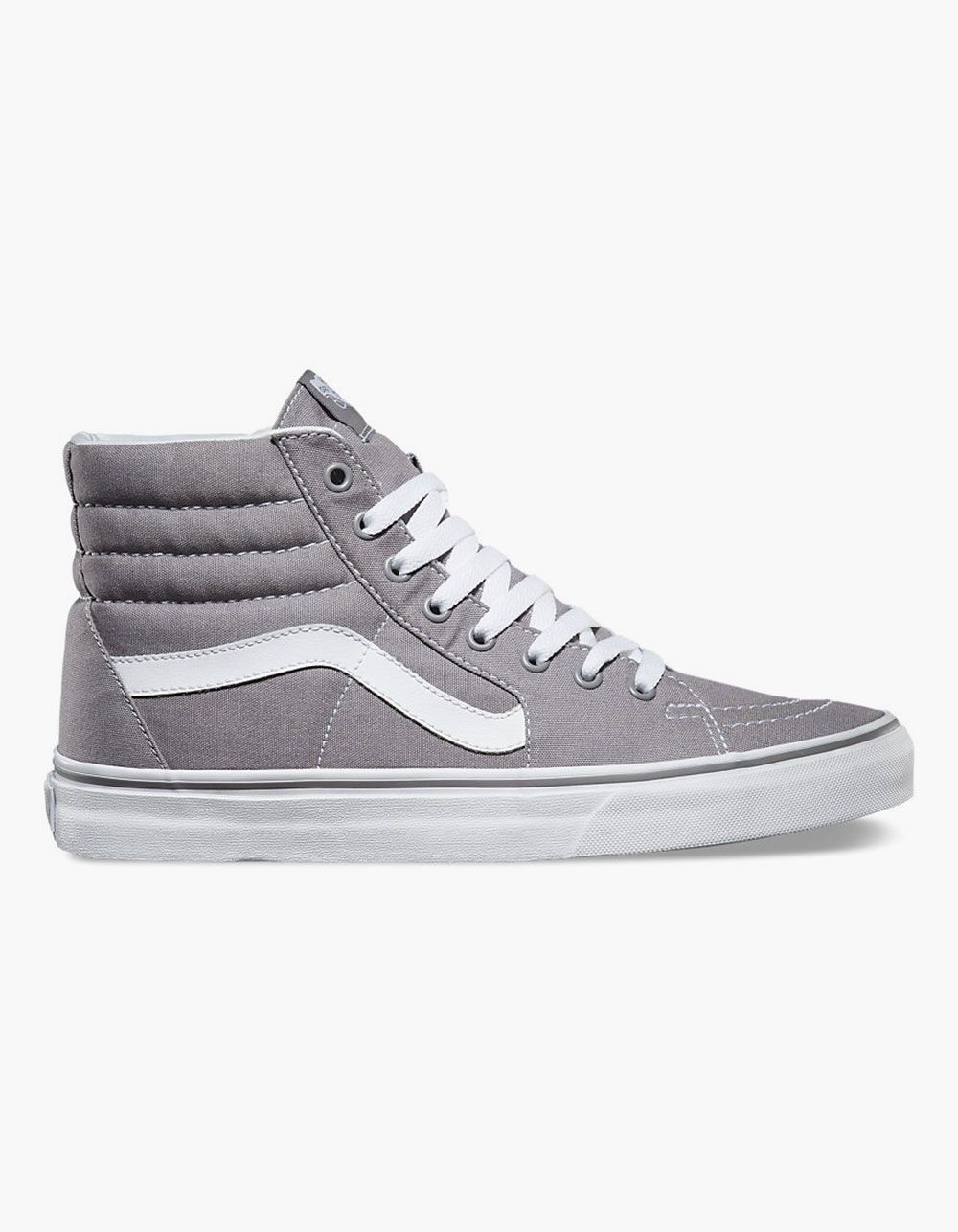 VANS Sk8 Hi Shoes 261765115 joggeskoGrå høye topp varebiler joggesko Gray high top vans