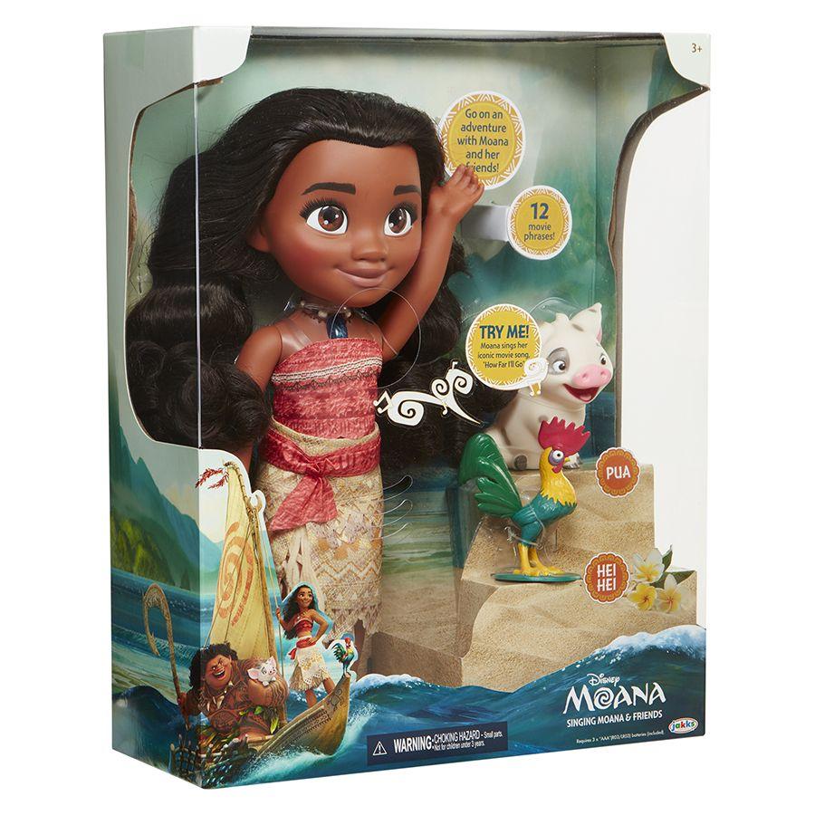 Disney's Moana Singing Moana & Friends Doll Toys R Us