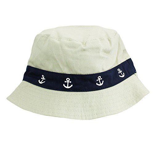 829d47968b6 Little Me Safari Outdoor Twill Bucket Baby Boys Sun Hat Khaki Beige 3-9  Months