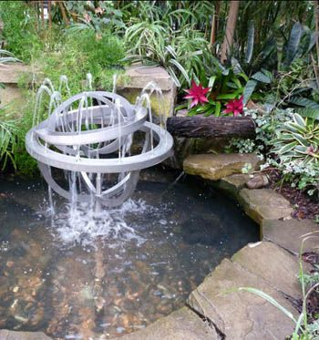 Incroyable Bob Vila BACKYARD POND/FOUNTAIN TIPS *sand On Bottom, Large Rocks Hanging  Over