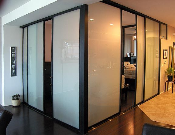 Interior Sliding Bedroom Doors. Can I put an opaque film on existing ...
