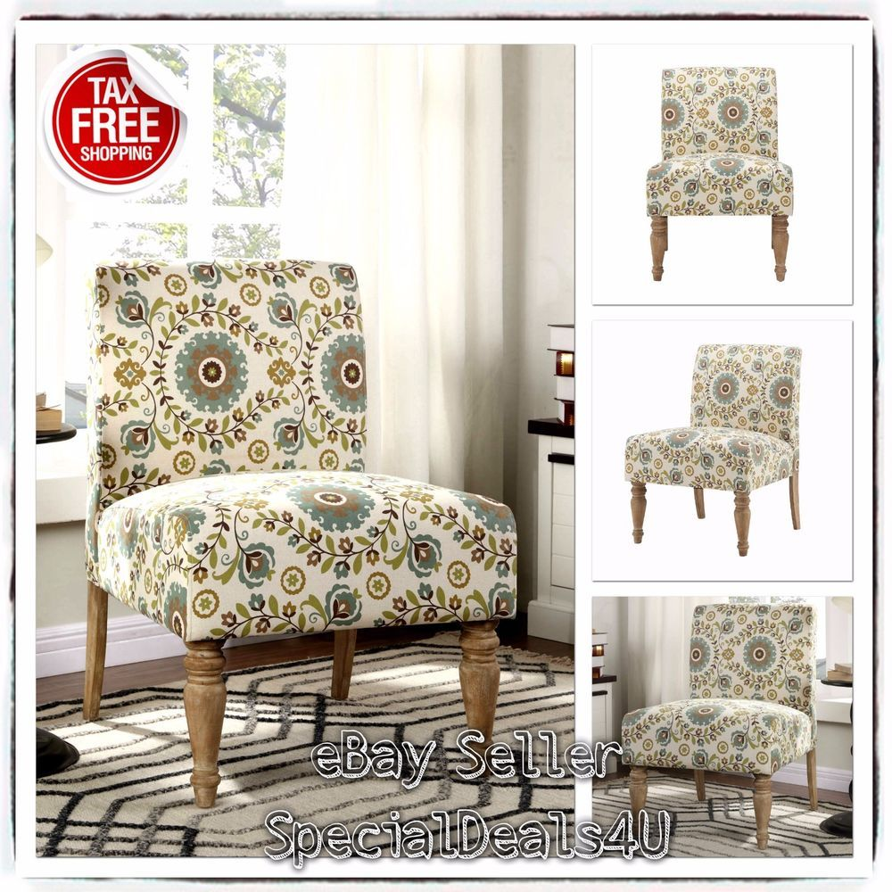 Modern Upholstery Chair Multi Colored Accent Chairs Sofa Futon Medallion Slipper Color Accents