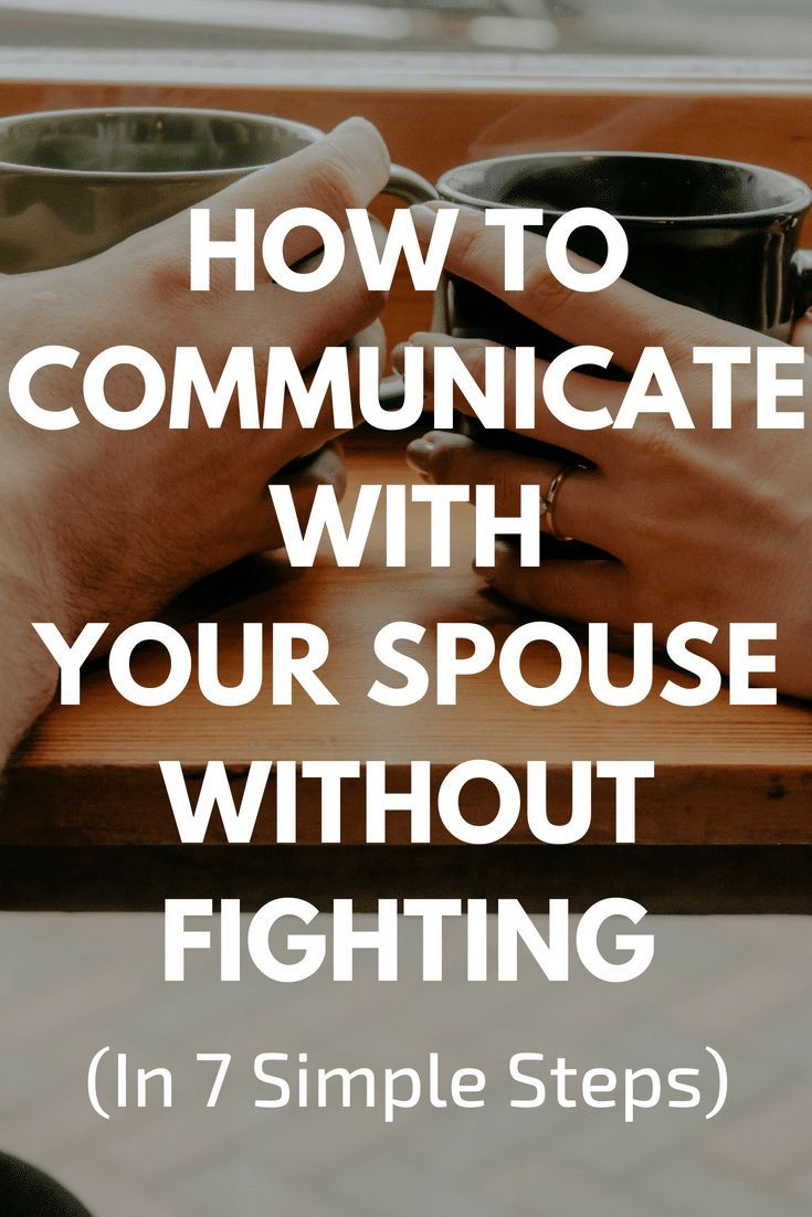 How to communicate after a fight