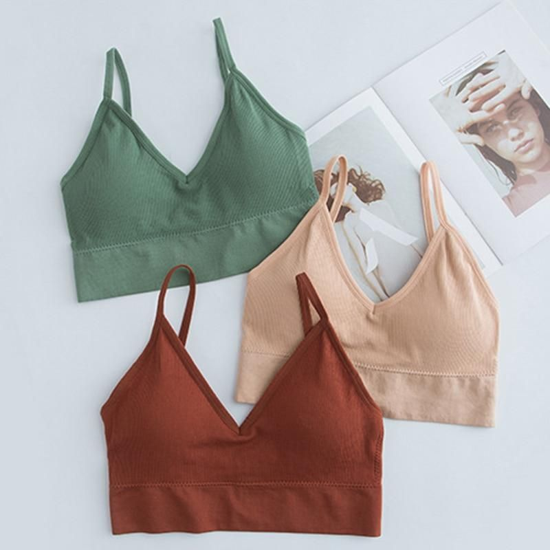 The Clara Bra This bra is so versatile -sports bra, bralette, whatever you wish! The low-back design is perfect for wearing under open-backed shirts, or even with your more casual day-to-day wear!