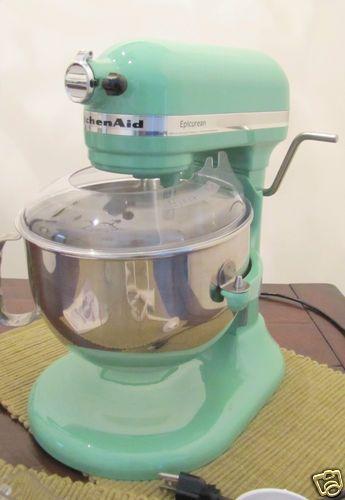 KitchenAid Green Mixer Limited Edition Martha Stewart Seacrest #9706205