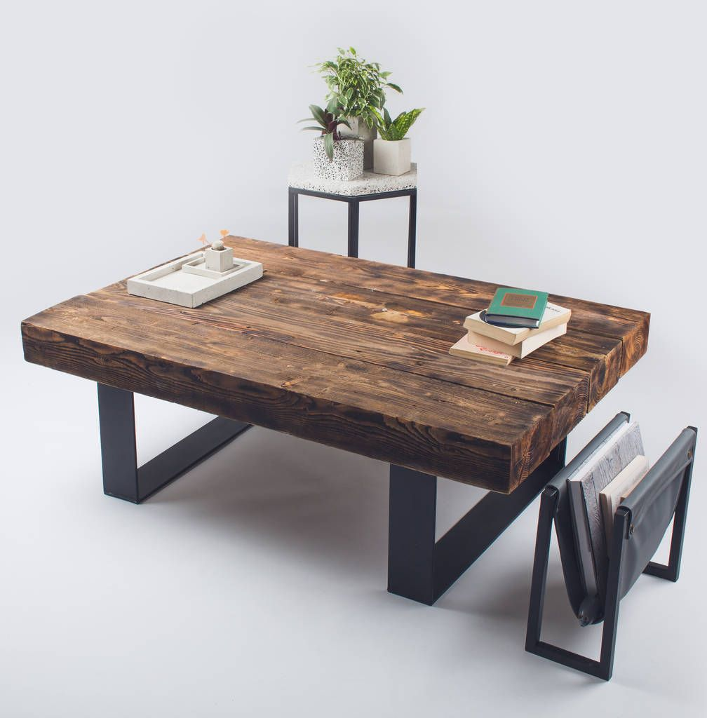 Metal And Wood Coffee Table Coffee Table Wood Handmade Coffee Table Reclaimed Wood Coffee Table Round [ 1024 x 1008 Pixel ]