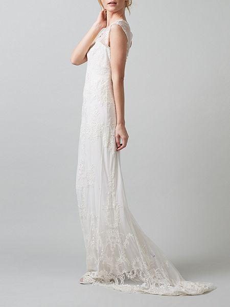 Oriana embroidered wedding dress