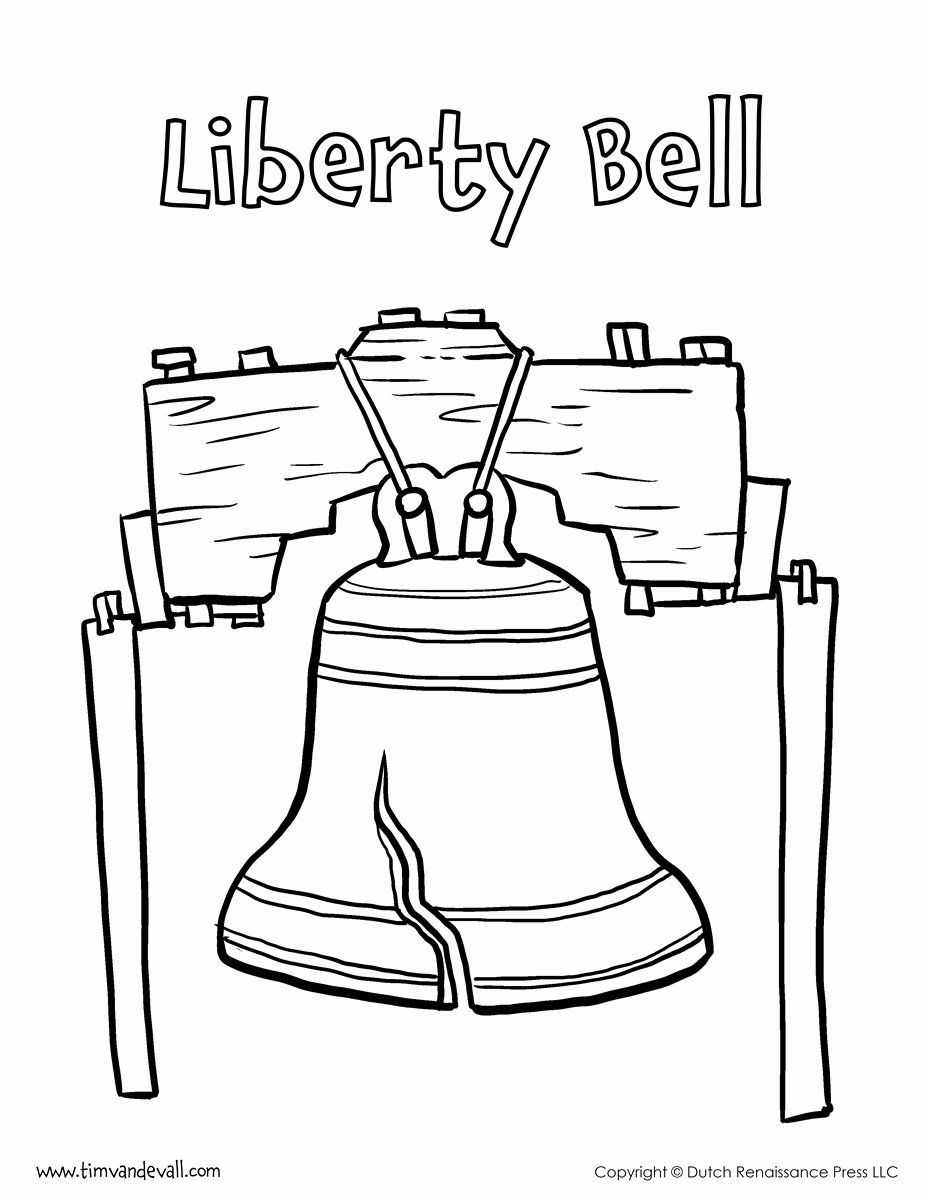 32 Liberty Bell Coloring Page In 2020 Coloring Pages