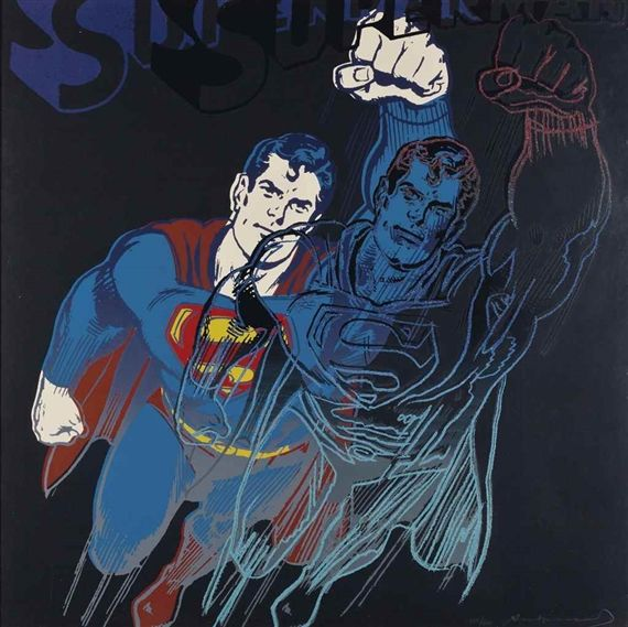 Andy Warhol, Superman, from Myths