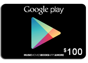 get google play gift card up to $100 here http://www ...