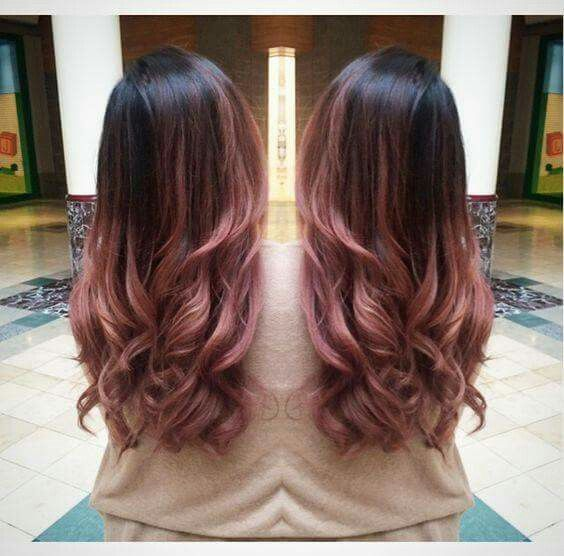 25 Best Hairstyle Ideas For Brown Hair With Highlights Dark Pale Pink Ombre