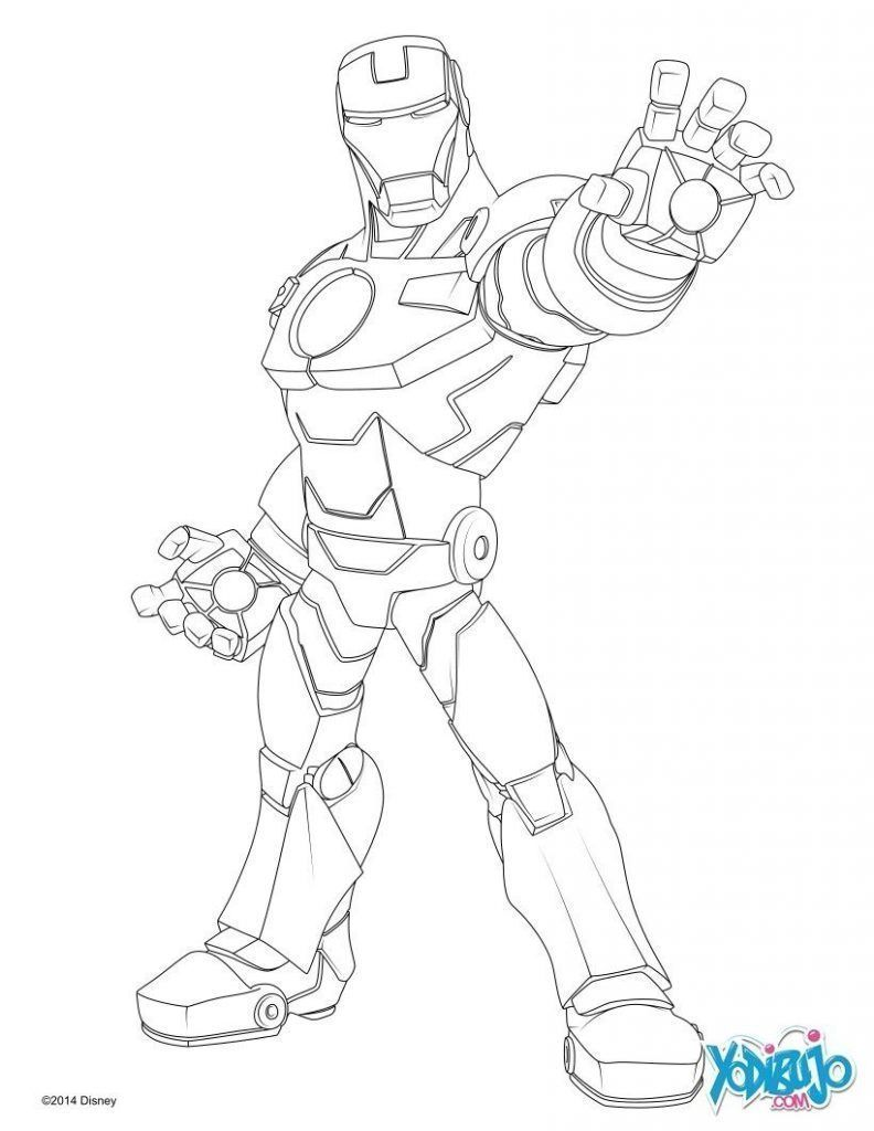 Colorear Iron Man Avengers Coloring Pages Cartoon Coloring Pages Coloring Pages