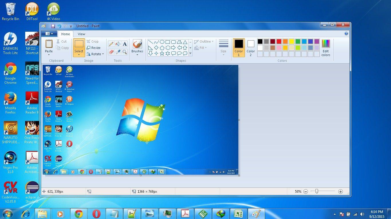 Mudahnya Cara Screenshot Di Laptop Windows 7 Dan 8 Dengan Gambar Komputer