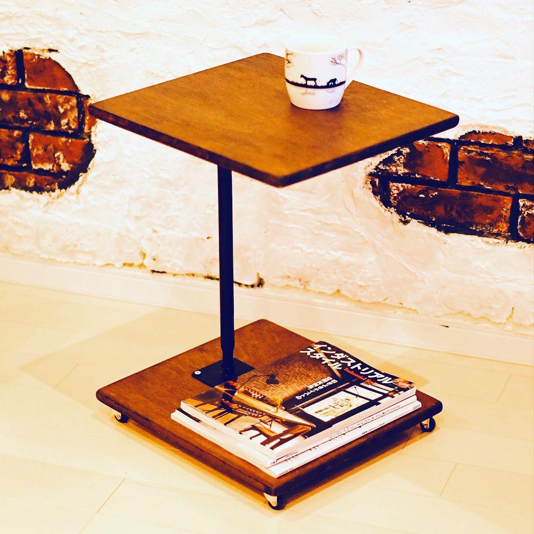 簡単diy 低コスト キャスター付サイドテーブル Limia リミア サイドテーブル サイドテーブル Diy インテリア
