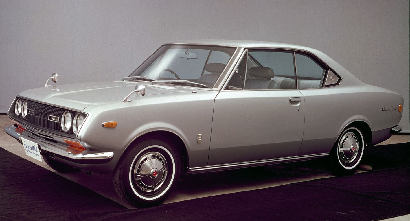 Toyota Corona Mark II Coupé | Toyota Classic Cars | Pinterest ...
