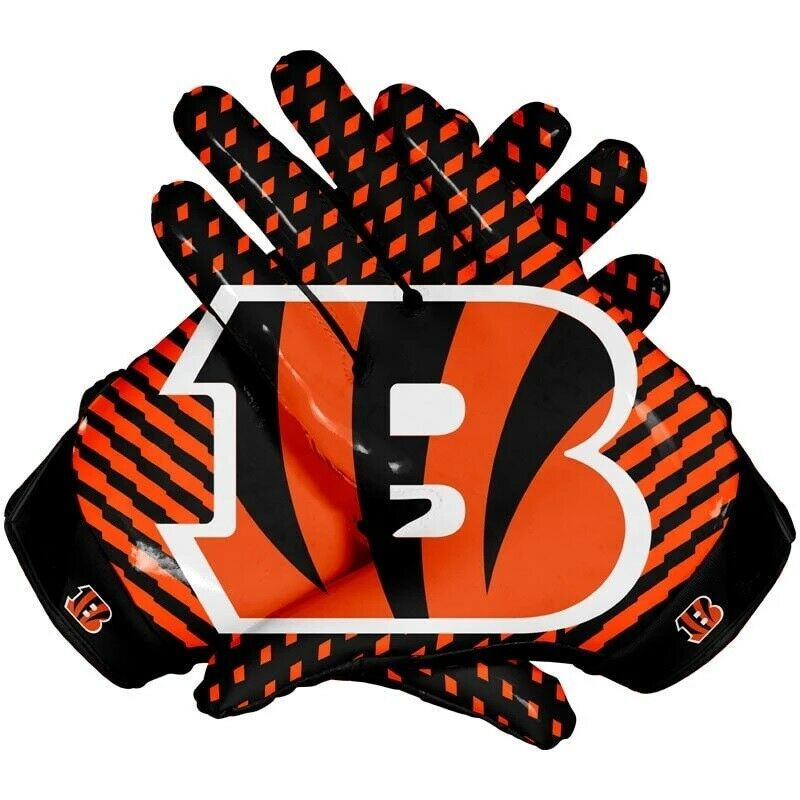 American cincinnati bengals team nfl football gloves with
