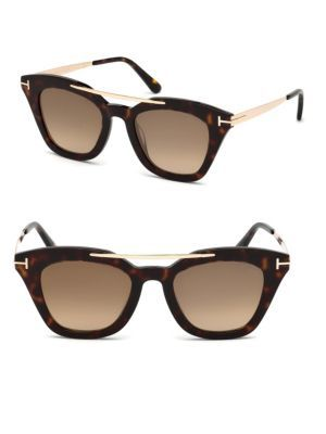 16831c47199 TOM FORD EYEWEAR Anna Cat Eye Sunglasses.  tomfordeyewear