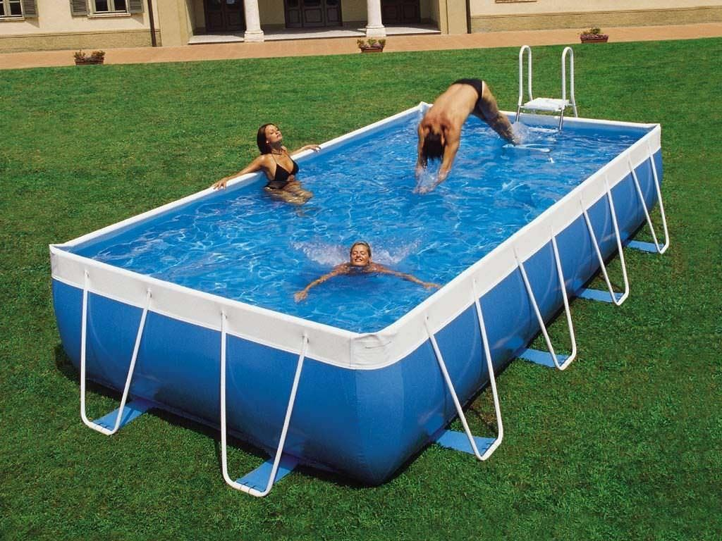 Portable Above Ground Swimming Pools Pool Prices Rectangle