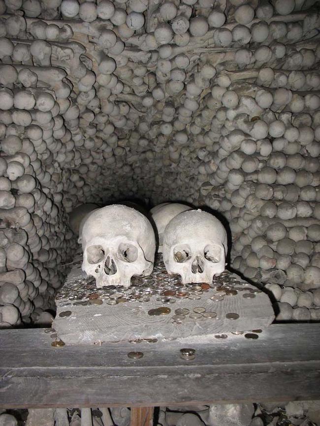 This Church Is Piled Full Of Bones. It's Beautifully Creepy.