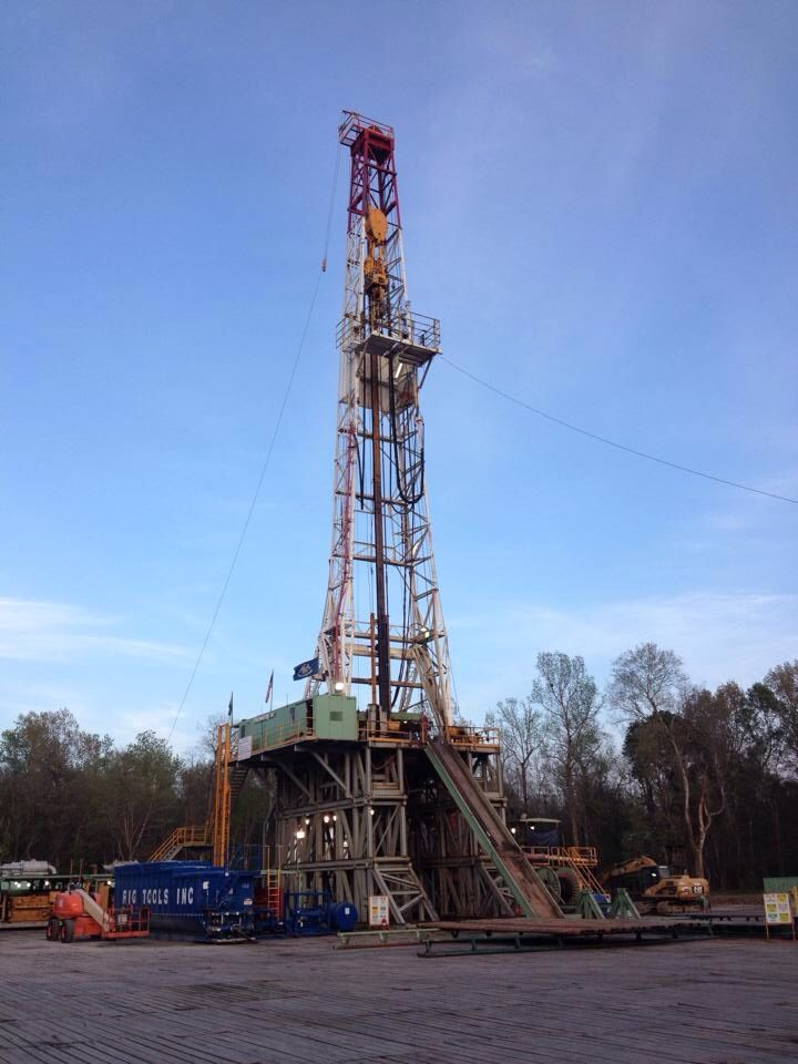 South Louisiana Drilling Rig Oil Rig Drilling Rig Custom Big Rig