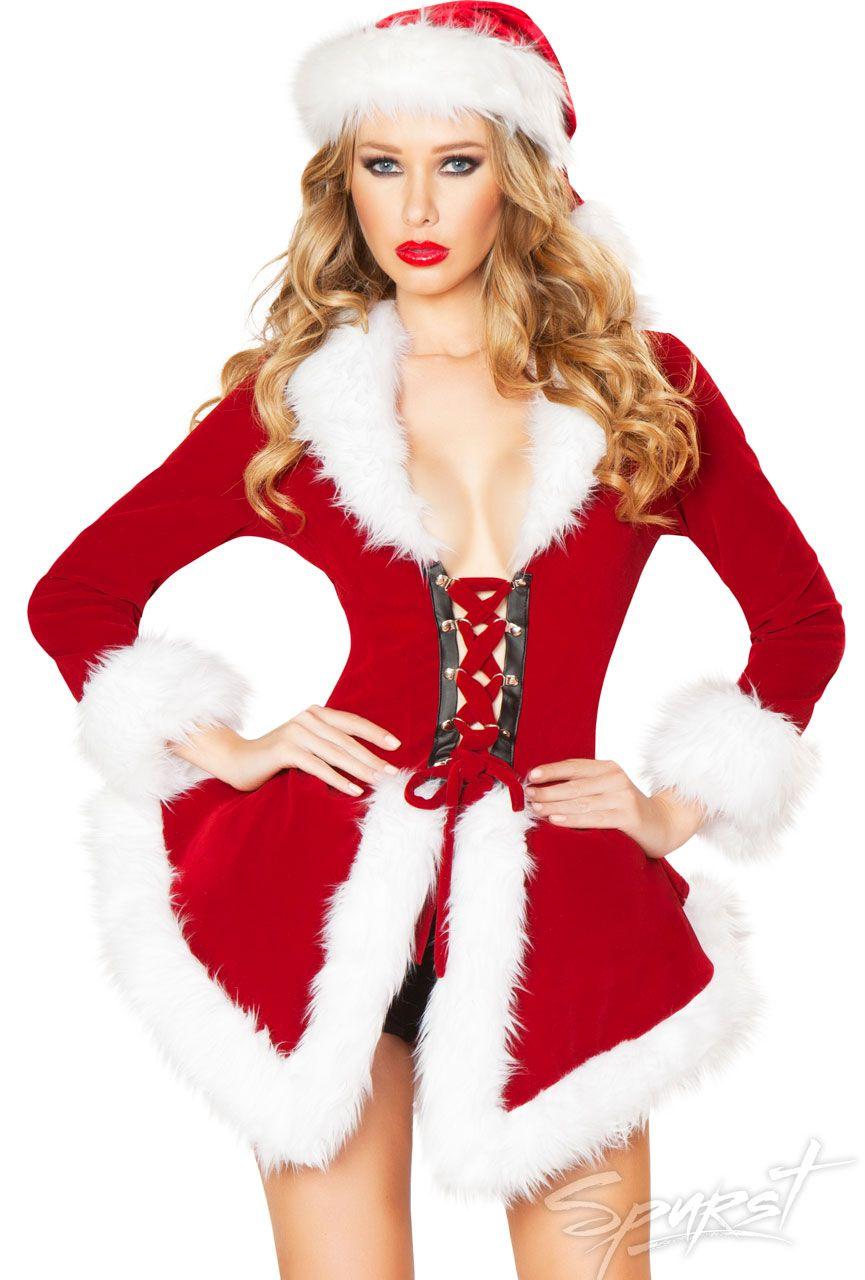 e4024a8f506 Chic Santa Costume  santa  sexysanta  spurst  christmas  costume  costumes   inspiration  holiday  sexy  wishlist  sexycostumes