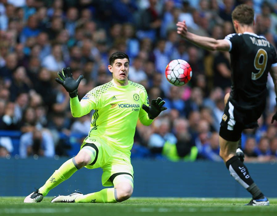 918b0414c43 Thibaut Nicolas Marc Courtois is a Belgian professional footballer who  plays as a goalkeeper for Premier