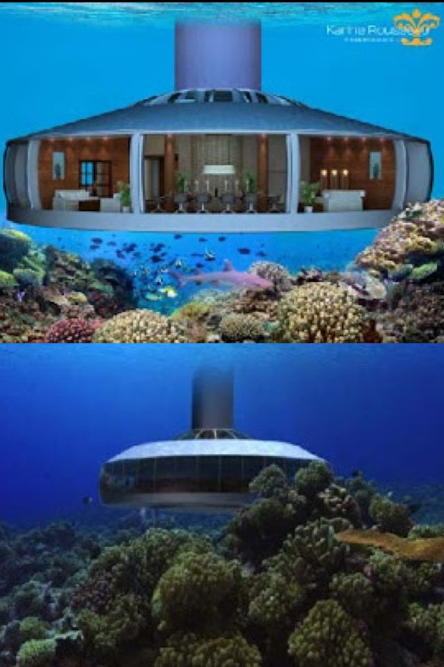 H2ome Is In Belize The World S First Undersea Residence