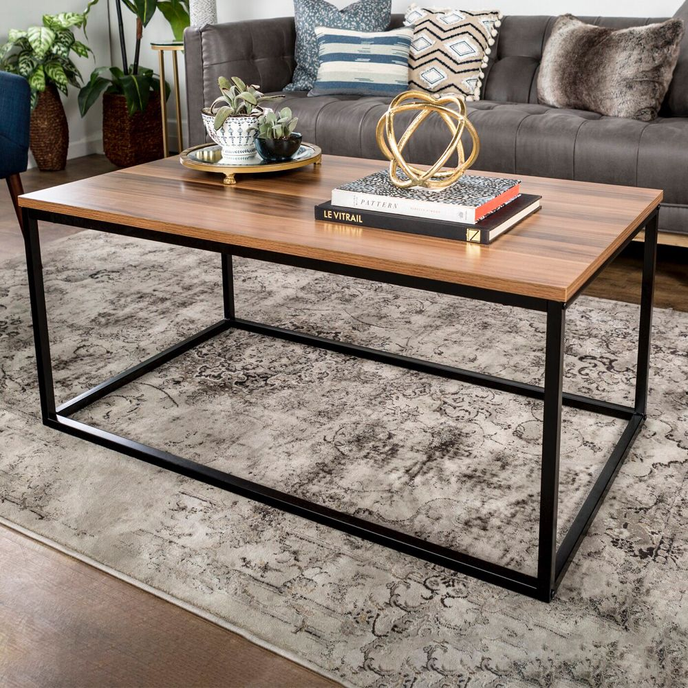 Dorian Frame Coffee Table In 2020 Coffee Table Coffee Table Rectangle Decorating Coffee Tables [ 1000 x 1000 Pixel ]