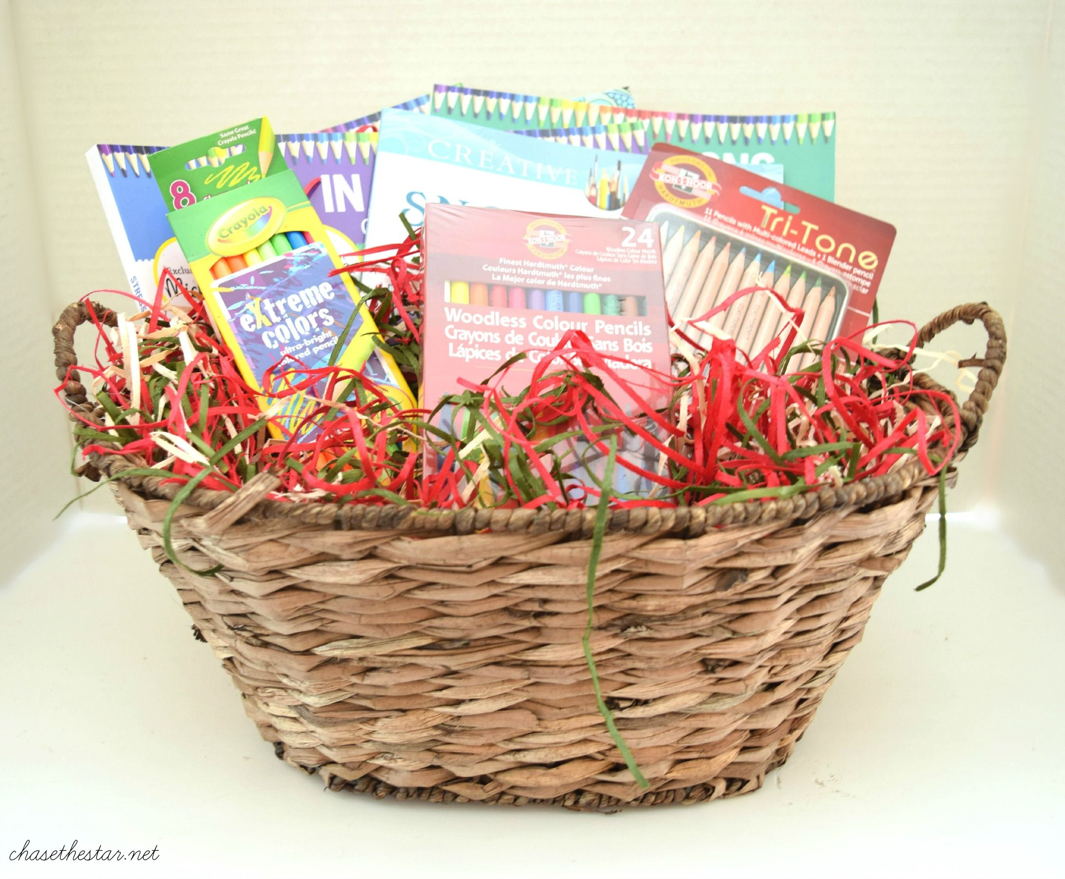 Adult Coloring Book Gift Idea Giftbasket Michaelsmakers