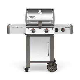 Weber Genesis Ii Lx S 240 Stainless Steel 2 Burner Natural Gas Grill With 1 Side Burner 65004001 Natural Gas Grill Propane Gas Grill Gas Grill
